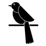 Εικονόγραμμα εικονιδίων μυγών πανίδας περιστεριών πουλιών Στοκ φωτογραφία με δικαίωμα ελεύθερης χρήσης