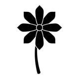 Εικονόγραμμα διακοσμήσεων άνοιξη λουλουδιών Gerbera Στοκ Εικόνες