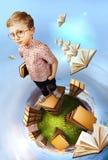 Εικόνα έννοιας εκπαίδευσης Στοκ εικόνες με δικαίωμα ελεύθερης χρήσης