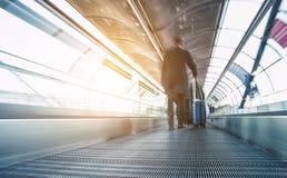 Εικόνα έννοιας ταχύτητας ταξιδιού Στοκ Εικόνες