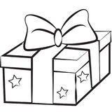 Εικόνα αποθεμάτων: Δώρο Χριστουγέννων διανυσματική απεικόνιση