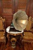 Εικόνα αποθεμάτων εκλεκτής ποιότητας gramophone Στοκ Εικόνα