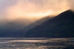 Εικόνα αποθεμάτων της λίμνης Hakone, Ιαπωνία Στοκ Εικόνα