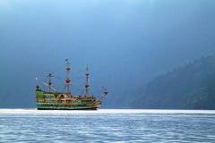 Εικόνα αποθεμάτων της λίμνης Hakone, Ιαπωνία Στοκ Φωτογραφίες