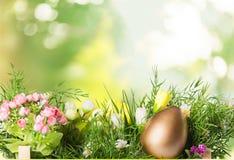εικόνα αυγών Πάσχας που γίνεται Στοκ Εικόνες