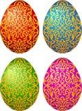 εικόνα αυγών Πάσχας που γίνεται Στοκ εικόνες με δικαίωμα ελεύθερης χρήσης