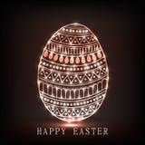 εικόνα αυγών Πάσχας που γίνεται Στοκ φωτογραφίες με δικαίωμα ελεύθερης χρήσης