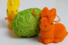 εικόνα αυγών Πάσχας που γίνεται Στοκ Φωτογραφία