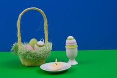 εικόνα αυγών Πάσχας που γίνεται Στοκ Εικόνα