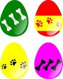εικόνα αυγών Πάσχας που γίνεται Στοκ φωτογραφία με δικαίωμα ελεύθερης χρήσης