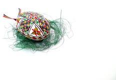 εικόνα αυγών Πάσχας που γίνεται Στοκ Φωτογραφίες