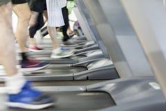 Εικόνα διάφορα treadmills στοκ εικόνες