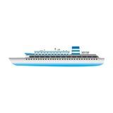 Εικόνα εικονιδίων Cruiseship Στοκ Φωτογραφία
