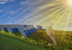 Εικόνα ενεργειακής έννοιας ηλιακού πλαισίου Στοκ εικόνα με δικαίωμα ελεύθερης χρήσης