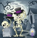 Εικόνα 2 θέματος σκελετών ελεύθερη απεικόνιση δικαιώματος
