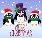 Εικόνα 5 θέματος Χαρούμενα Χριστούγεννας Στοκ Φωτογραφία