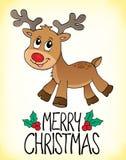 Εικόνα 1 θέματος Χαρούμενα Χριστούγεννας Στοκ Φωτογραφία