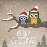 Εικόνα 6 θέματος Χαρούμενα Χριστούγεννας Στοκ φωτογραφία με δικαίωμα ελεύθερης χρήσης