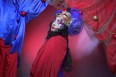 Εικόνα καρναβαλιού. Στοκ Εικόνες