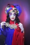 Εικόνα καρναβαλιού. Στοκ εικόνες με δικαίωμα ελεύθερης χρήσης