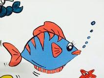 Εικόνα κινούμενων σχεδίων παιδιών Στοκ εικόνες με δικαίωμα ελεύθερης χρήσης