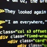Εικόνα κώδικα Στοκ Εικόνες