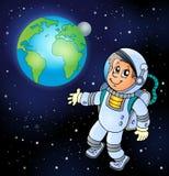 Εικόνα με το διαστημικό θέμα 6 Στοκ φωτογραφία με δικαίωμα ελεύθερης χρήσης