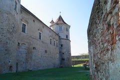 Εικόνα με το φρούριο Fagaras, Brasov, Ρουμανία στοκ εικόνες