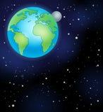 Εικόνα με το διαστημικό θέμα 5 Στοκ φωτογραφία με δικαίωμα ελεύθερης χρήσης