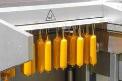 Εικόνα μιας μηχανής λουκάνικων στοκ φωτογραφία με δικαίωμα ελεύθερης χρήσης