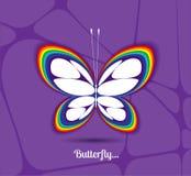 Εικόνα μιας πεταλούδας Στοκ φωτογραφία με δικαίωμα ελεύθερης χρήσης
