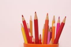 Εικόνα μολυβιών χρώματος Στοκ εικόνα με δικαίωμα ελεύθερης χρήσης
