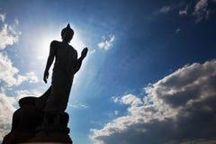 Εικόνα περπατήματος Βούδας, Ταϊλάνδη Στοκ εικόνα με δικαίωμα ελεύθερης χρήσης