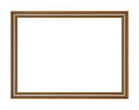 εικόνα πλαισίων ξύλινη Στοκ φωτογραφίες με δικαίωμα ελεύθερης χρήσης