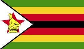 Εικόνα σημαιών της Ζιμπάμπουε ελεύθερη απεικόνιση δικαιώματος
