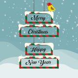εικόνα σχεδίου Χριστουγέννων ελέγχων ιστορικού το χαρτοφυλάκιό μου παρόμοιο Στοκ Φωτογραφίες