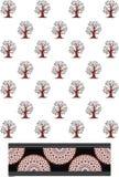 Εικόνα σχεδίων δέντρων Στοκ φωτογραφία με δικαίωμα ελεύθερης χρήσης
