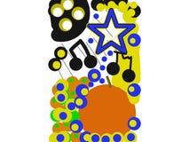 Εικόνα τέχνης ραδιοφωνικής μετάδοσης ηλεκτρονικού ταχυδρομείου Στοκ εικόνα με δικαίωμα ελεύθερης χρήσης