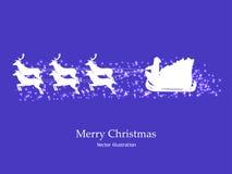 Εικόνα, ταπετσαρία για τα Χριστούγεννα, νέα κάρτα έτους διανυσματική απεικόνιση