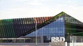 Εικόνα της έρευνας και του αναπτυξιακού κέντρου στο Ντουμπάι που θα ολοκληρωθεί ως το 2020 στοκ φωτογραφία