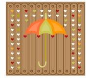 Εικόνα της ομπρέλας Στοκ φωτογραφίες με δικαίωμα ελεύθερης χρήσης