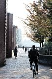 Εικόνα της περιοχής λεωφόρων στο Central Park Στοκ εικόνα με δικαίωμα ελεύθερης χρήσης