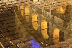 Εικόνα της Ρώμης: το μεγαλοπρεπές Colosseum Στοκ Εικόνα