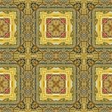 Εικόνα της χαρασμένης χρυσής διακόσμησης Στοκ Εικόνες