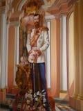 Εικόνα τοίχων του ρωσικού αυτοκράτορα Στοκ εικόνα με δικαίωμα ελεύθερης χρήσης