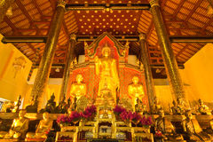 εικόνα του Βούδα ρύθμισης Στοκ Φωτογραφίες