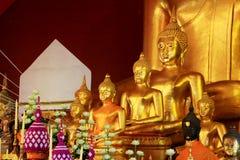 Εικόνα του Βούδα σε Wat Phra Σινγκ, Chiang Mai, Ταϊλάνδη Στοκ Φωτογραφίες