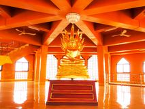 Εικόνα του Βούδα στο ναό Angthong, επαρχία Angthong, Ταϊλάνδη στοκ εικόνες