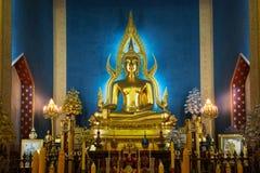 Εικόνα του Βούδα αρχής σε έναν ναό Στοκ εικόνα με δικαίωμα ελεύθερης χρήσης
