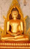 Εικόνα του Βούδα, ναός στην Ταϊλάνδη Στοκ Εικόνες